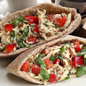 "QUICK BITES-STUFFED PITAS(Order directly at ""THE SOUL"")"